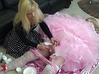 Colgate palmolive shave cream vintage tubes Sissy hole shaved and creamed by madame c