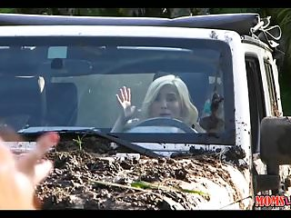 Cougar and milf videos Teen and milf have dirty carwash