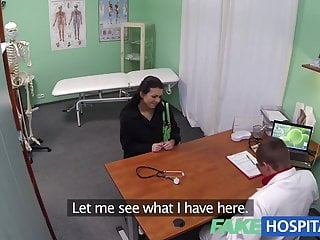 Feel my young pussy - Fakehospital young mum wanting to feel sexy has her ass tong