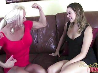 Ebony female bodybuilder sex - Female bodybuilder pornstar ashlee chambers toy masturbation