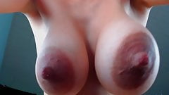jiggly big nipples