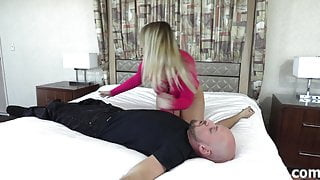 Slave training with Domina Lola Fae