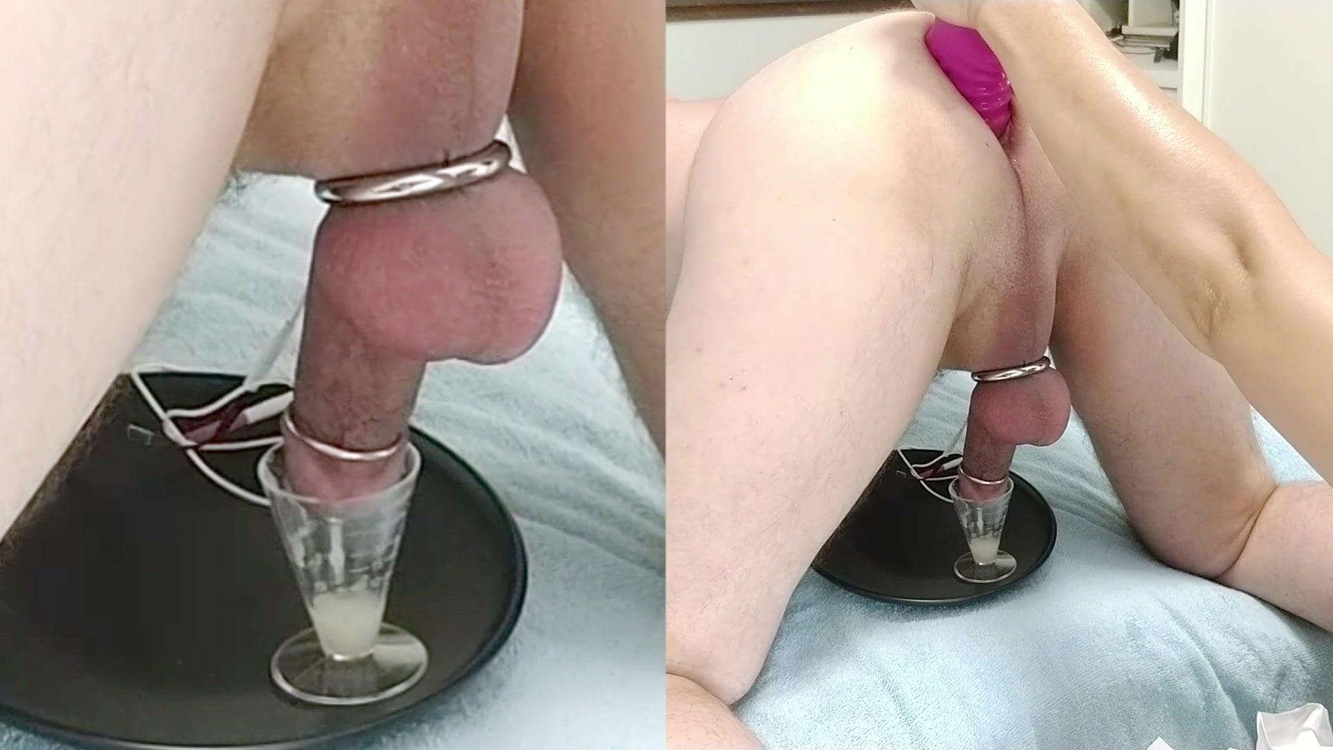 Русская жена доит мужа порно