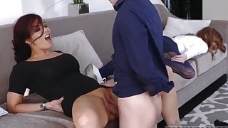 boy fucks girlfriend's mom