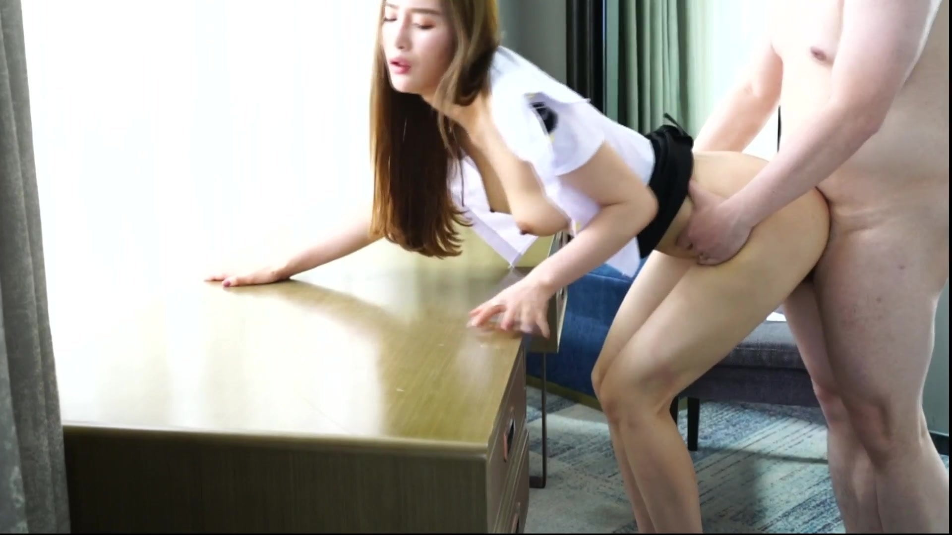 Asian Teen Fucks Stepdad