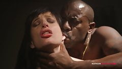Petite French Slut Ava Courcelles Gets BBCed by Joss Lescaf