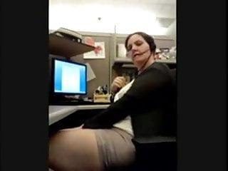 Mcdowell adult learning center Chubby call center girl masturbating and cumin at the office