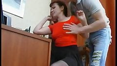 Mom and notson fucked on table