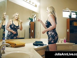 Julia ann hot milf office fuck - Hot busty milf julia ann pleasures lucky fans hard cock