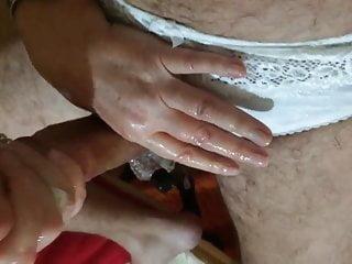 Sexy panty handjob video - Panty handjob
