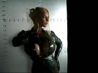 Megaboobed brunettes fucking Megaboobs in latex
