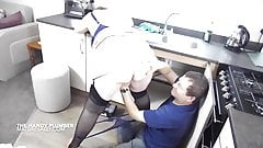 nipple The plumber gets this matures big tits out horny