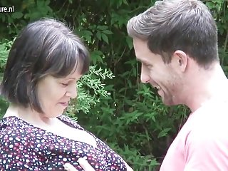Mexican breast - Big breasted british mom fucking not her son