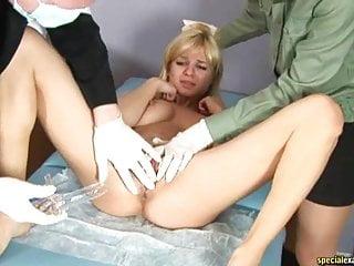 Pussy close up pregnant Gyno exam