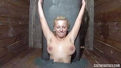 Blonde Milf Fucking Glory Hole