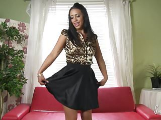 Hot teen skirt girls - Hot babe masturbatin in satin blouse and skirt