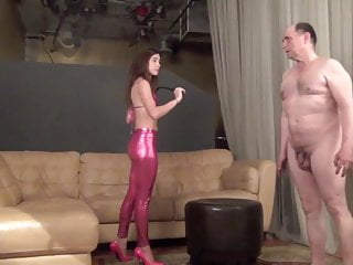 Femdom men in pain video Domina nikki next a painful lesson learned whipping