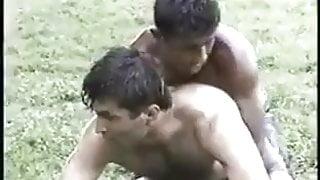 Str8 Turkish wrestlers