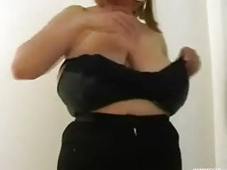 Big boob and bras Big boob trying on bras