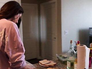 Redhead kitchen sex Kitchen sex