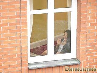 Hot sexy neighbours Dane jones voyeur fucks his sexy neighbour