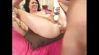 MILF getting fucked in the ass
