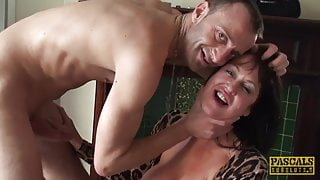 PASCALSSUBSLUTS - MILF Jessie Jo Cums Before Creampie