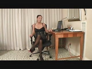 Katie rees nude video Ree office bound