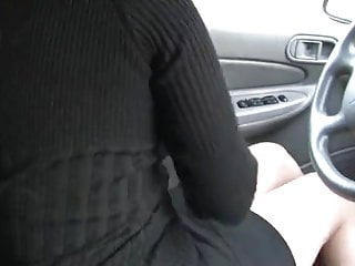 Chicks desperate to pee Desperate to pee locked in her car