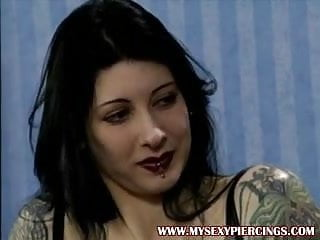 Porn star rapper - Pierced and tattooed german porn star shows piercings