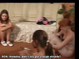 Japanese girls spanked - Four girls spanked