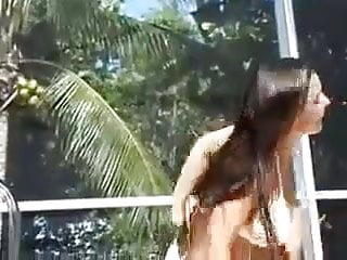 Nn young teen bikini models - Christina model white bikini dance