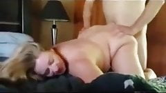 Cuckold husband records his wife being fucked
