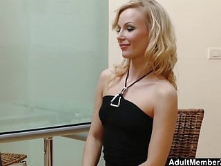 Angie savage bondage Blonde sluts orders a manwhore to satisfy her