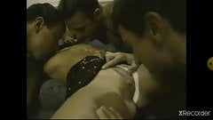interracial gangbang with Rocaforte and friends
