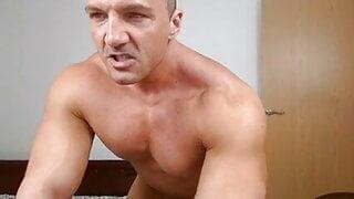 Muscle BodyBuilder Nude Masturbation - Special