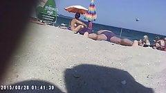 Amateur Voyeur Beach 7
