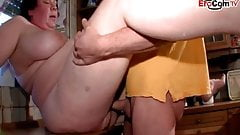 xhaksp4 german chubby fat housewife mom with hairy pussy in