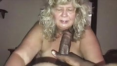 Never to old to suck That BBC grandma!!! 2