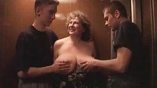 Granny with massive tits, pt 2