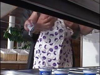 Black dick video ester Bozena ester kitchen fuck