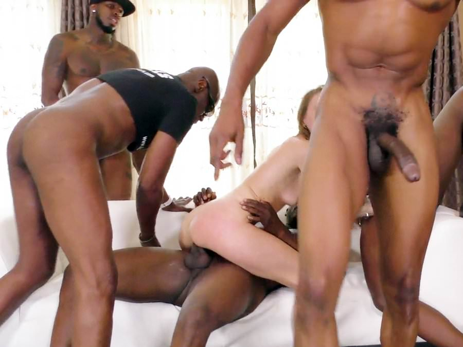 Alysa Gap Interracial Anal