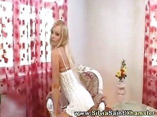 Silvia saint in latex Silvia saint - its play time