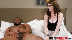 Young PAWG Remy fucks thick BBC before creampie surprise