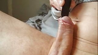spatula 19mm in the urethra swollen cock well