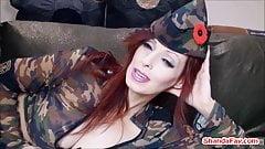 Canadian Army Slut Shanda Fay Gets Banged!