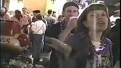 mardi gras flasher drops her drawers