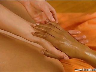 Asian naked sensual massage vieo Beautiful women enjoying sensual massage