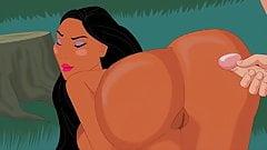 Pocahontas-Cartoon Sex