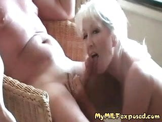 Exposed shemale My milf exposed - blonde amateur milf n the balcony